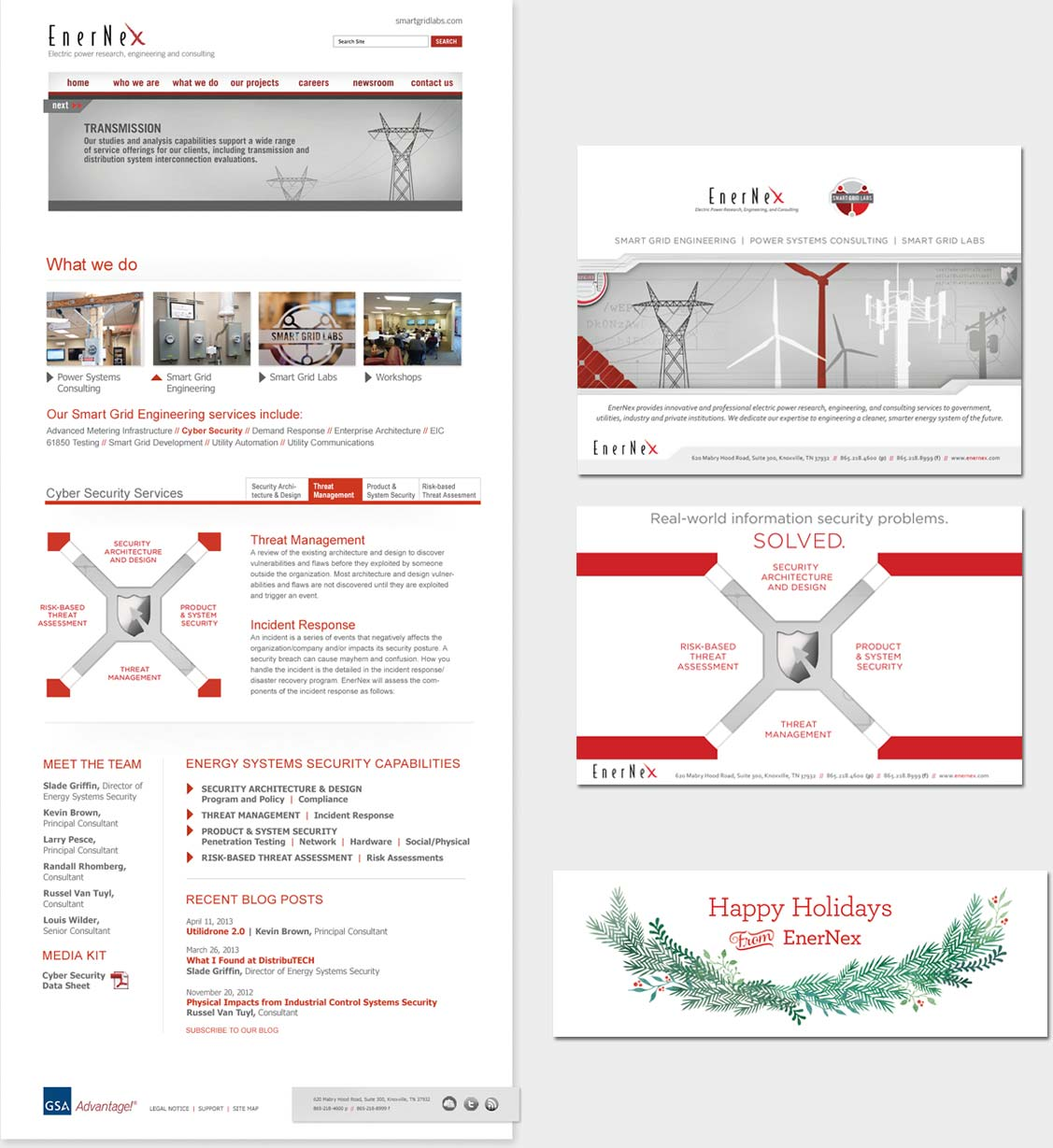Site design, advertising and email campaign banners